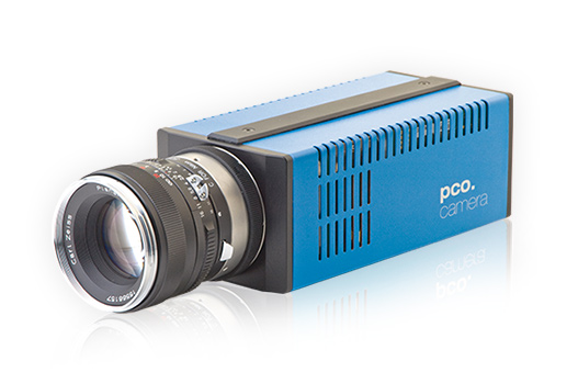 pco.1200s highspeed CMOS camera system front left view image