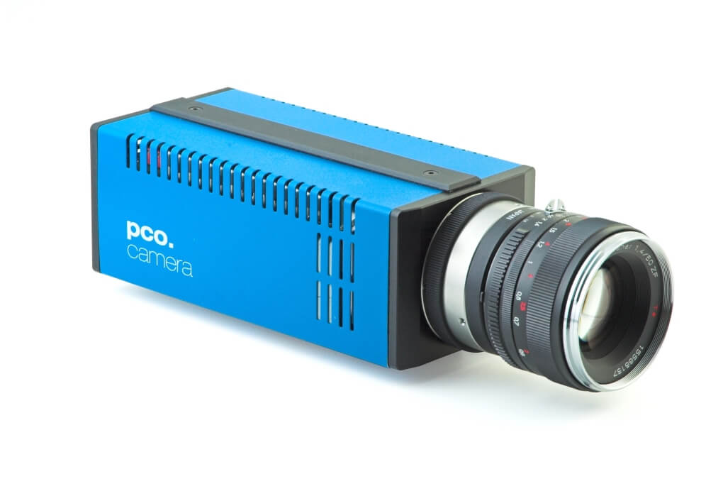 pco.1200s highspeed CMOS camera system front right view image