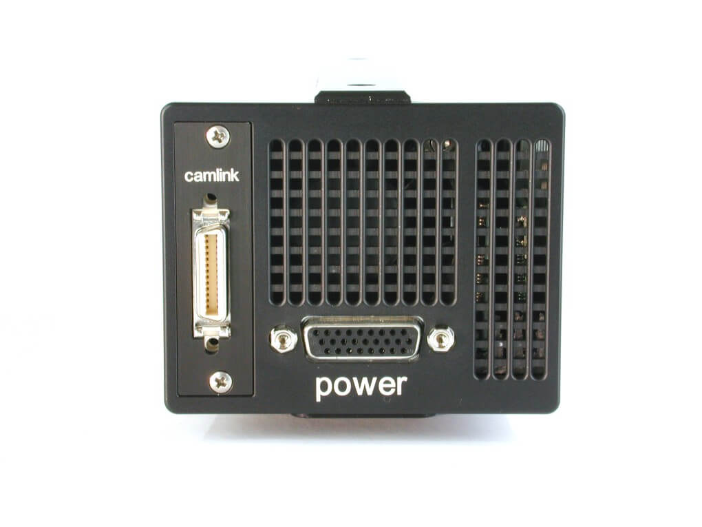 pco.1200s highspeed CMOS camera system rear view image Camera Link
