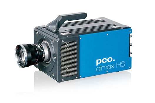 pco.dimax HS highspeed camera front left side image