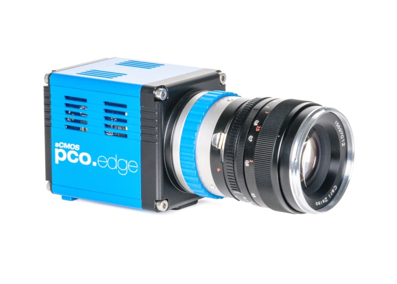 pco.edge 4.2 sCMOS camera front side view