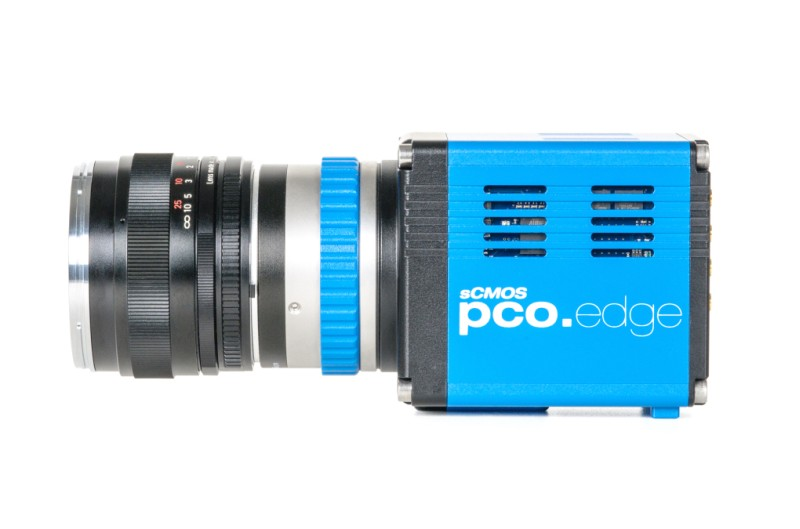 pco.edge sCMOS camera system side view