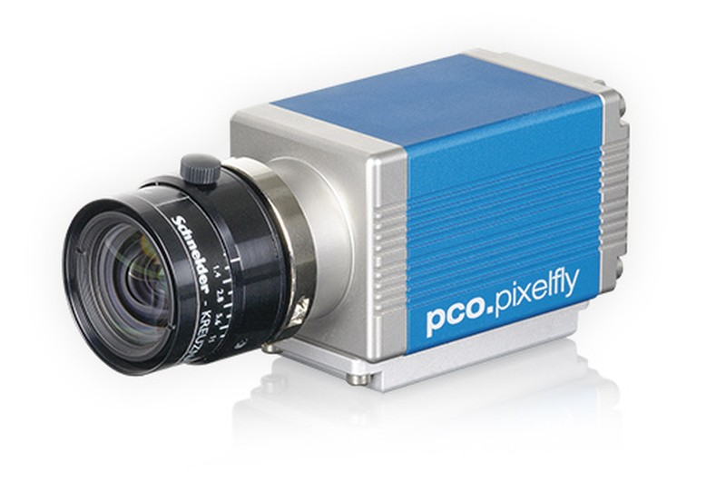 pco.pixelfly usb CCD scientific camera system front left side view main pic