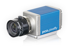 pco.pixelfly usb CCD scientific camera system front side view